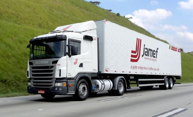 vaga de motorista na Jamef Encomendas Urgentes
